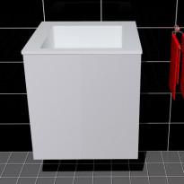 Allaskaappi ja pesuallas Easy Bath Tango 50 OVI