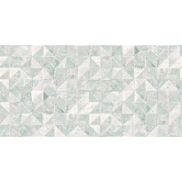 Tapetti Engblad & Co Global Living, Desert Wall 6457, 0.53x10.05m, valkoinen/turkoosi