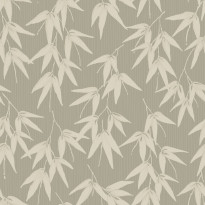 Tapetti Engblad & Co Global Living, Bamboo Garden 6467, 0.53x10.05m, vihreä