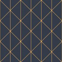 Tapetti Engblad & Co Graphic World, Diamonds 8804, 0.53x10.05m, sininen