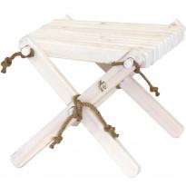 Sivupöytä/rahi EcoFurn Lilli, mänty, kuultovalkoinen