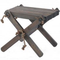 Sivupöytä/rahi Ecofurn Lilli, mänty, harmaa