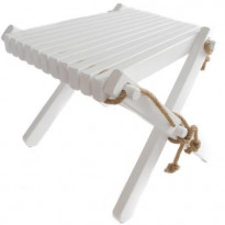 Sivupöytä/rahi EcoFurn Lilli, koivu, maalattu valkoinen