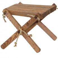 Sivupöytä/rahi EcoFurn Lilli, saarni, ruskea