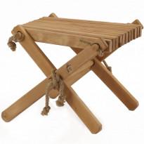 Sivupöytä/rahi EcoFurn Lilli, tervaleppä, teaköljy
