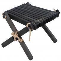 Sivupöytä/rahi Ecofurn Lilli, tervaleppä, musta