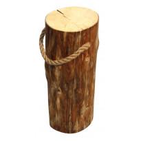 Jakkara EcoFurn Pölkky, Ø25-35x60cm, käsittelemätön