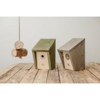 Linnunpönttösetti + hyönteishotelli EcoFurn, puu