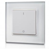 LED-himmennin FTLight, painonappi, langaton, seinä-asennus, 12-36V DC, 86x86x13mm