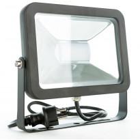 LED-valonheitin LED Energie Cspot, 50W, IP44, 3500lm, musta