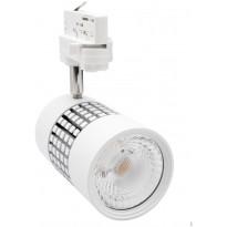 LED-kiskovalaisin FTLight, 25W, 2000lm, 3000K, 3-vaihekiskoon, valkoinen