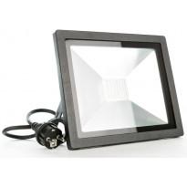 LED-valonheitin LED Energie Slim, 150W, IP44, 4500K, 12000lm, valkoinen
