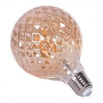 LED-lamppu NordLED Interior II, 4W, E27, ø95x128mm