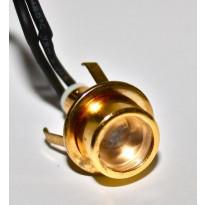 LED-kiuasvalo saunavalosarjaan Easy Lighting, 1 kpl, lämmin valkoinen, messinki