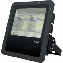 LED-valonheitin FTLight Work Platinum, 100W, 4500K, 346x314x101mm, musta