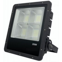 LED-valonheitin FTLight Work Platinum, 200W, 4500K, 409x372x104mm, musta