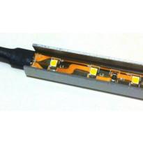 LED-asennuslista FTLight, U-malli, 1,2m, RST
