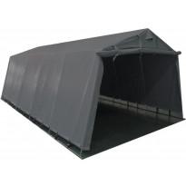 Pressutalli Prohall Grey, 6x3.2x2.2 m, oviaukko 2x3.2-2.4m, 500g/m2