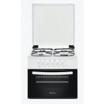 Kaasuliesi Ferre Style kannella, 50 cm, pöytämalli, valkoinen