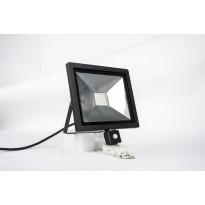 LED-valonheitin LED Energie Slim, PIR-liiketunnistin, 50W, 4000lm, IP43, 4500K