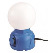 LED-työvalo LED Energie Globe, 2 pistorasiaa, 20W, 1800lm, IP54, 4200K