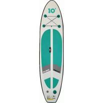 SUP-lautasetti Aloha Breeze 10, ilmatäytteinen, 300x76x10cm, max. 95kg