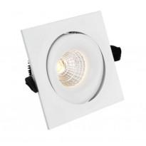 LED-alasvalo FTLight QSPOT, 5W, IP44, 4000K, himmennettävä, valkoinen