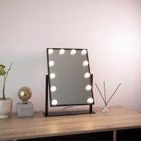 LED-meikkipeili Lumo Hollywood, 47x36.5x8cm, 3000/5000K