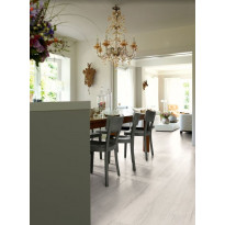 Komposiittilattia Egger Flooring Design GreenTec, Tammi Elva Valkoinen, 1.995 m²/pkt