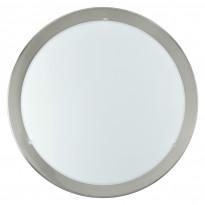 Plafondi LED Planet, 12W, Ø29cm, nikkeli, valkoinen