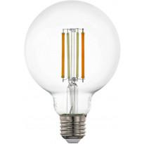 LED-polttimo Eglo Crosslink, E27, 6W, G95, säädettävä värilämpötila