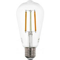 LED-polttimo Eglo Crosslink, E27, 6W, ST64, säädettävä värilämpötila
