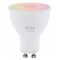 LED-polttimo Eglo Crosslink, GU10, 5W, värinvaihto