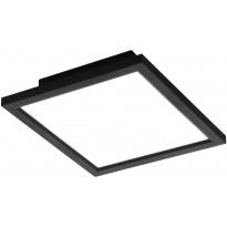 LED-kattovalaisin Eglo Salobrena-C, 30x30cm, musta