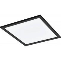 LED-kattovalaisin Eglo Salobrena-C, 45x45cm, musta