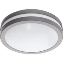 LED-Kattovalaisin Eglo Crosslink Locana-C, 14W, Ø260x95mm, IP44, hopea