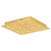 LED-katto-/seinävalaisin Eglo Vezeno 1 370x370mm, 16-osainen, kulta 39056