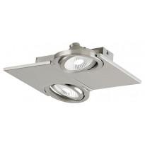 LED-katto-/seinäspotti Eglo Brea, 2-osainen, teräs 39248