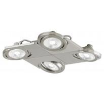 LED-katto-/seinäspotti Eglo Brea, 4-osainen, teräs 39251