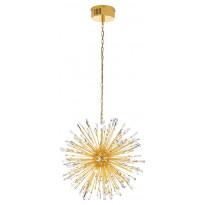 LED-riippuvalaisin Eglo Vivaldo 1, Ø680mm, 21-osainen, kulta, kristalli 39255