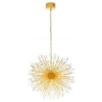 LED-riippuvalaisin Eglo Vivaldo 1, Ø980mm, 32-osainen, kulta, kristalli 39256