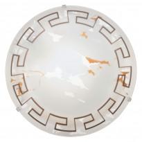 Plafondi Twister (82877), Ø31,5cm, satiinilasi