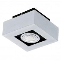 Kattovalaisin Loke LED 1, 1-osainen, alumiini/musta
