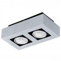 Kattovalaisin Loke LED 1, 2-osainen, alumiini/musta