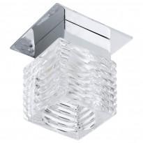 Upotettava spottivalaisin Tortoli LED (92678), kromi/lasi