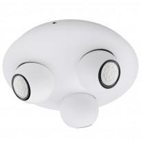 Kattovalaisin Norbello 3 LED, 3-osainen, valkoinen