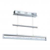 Riippuvalaisin LED Cardito 1, kromi, kristalli, Verkkokaupan poistotuote