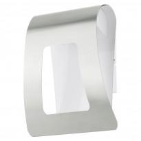 Seinävalaisin LED Fastro, 2x2,5W, ruostumaton teräs/valkoinen