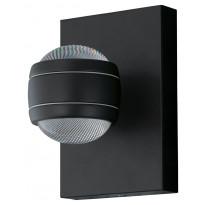 LED-ulkoseinävalaisin Eglo Sesimba, musta 94848