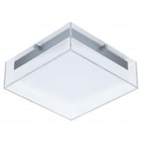LED-katto-/seinävalaisin ulos Eglo Infesto, hopea, valkoinen 94874
